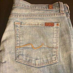 Seven 4AMK Jeans. Excellent Condition. Sz. 32.